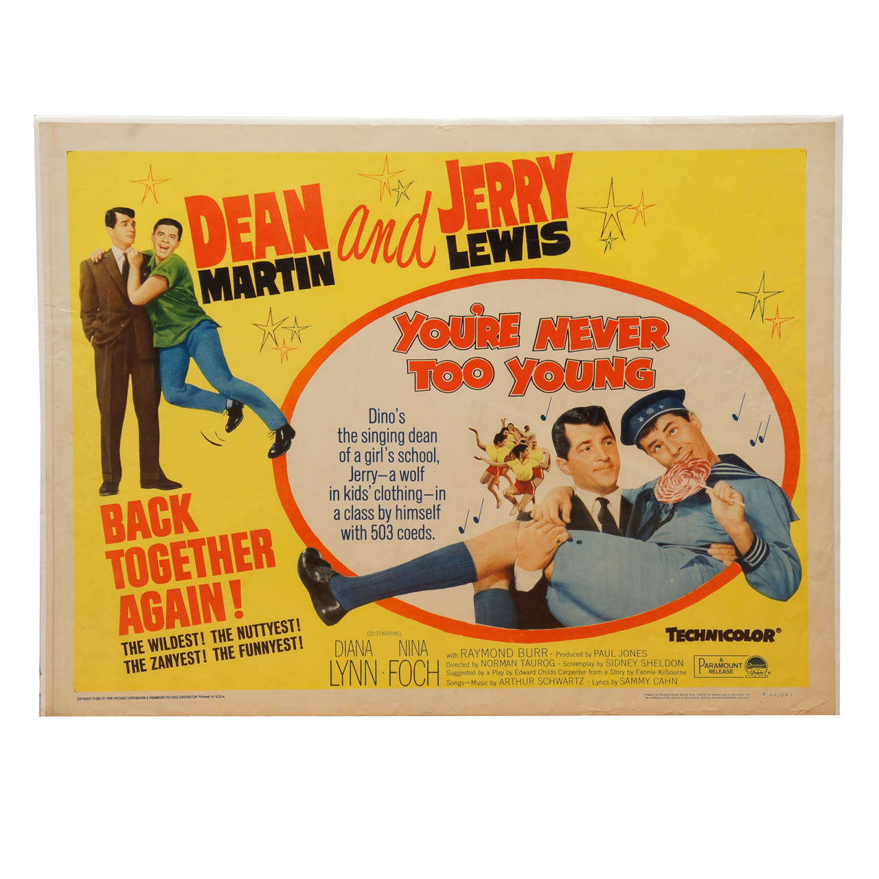 1952 Dean Martin and Jerry Lewis \