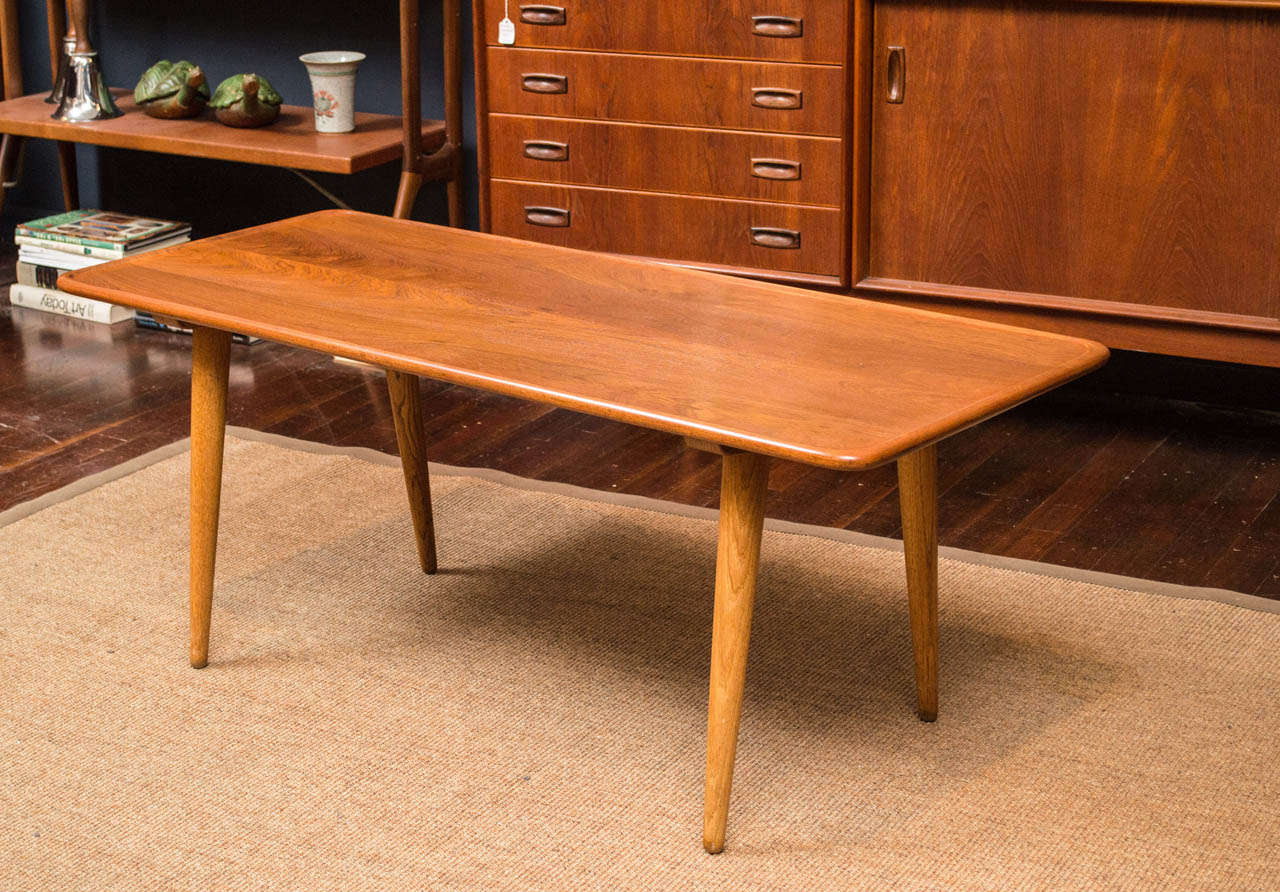 Danish Hans Wegner Coffee Table For Sale