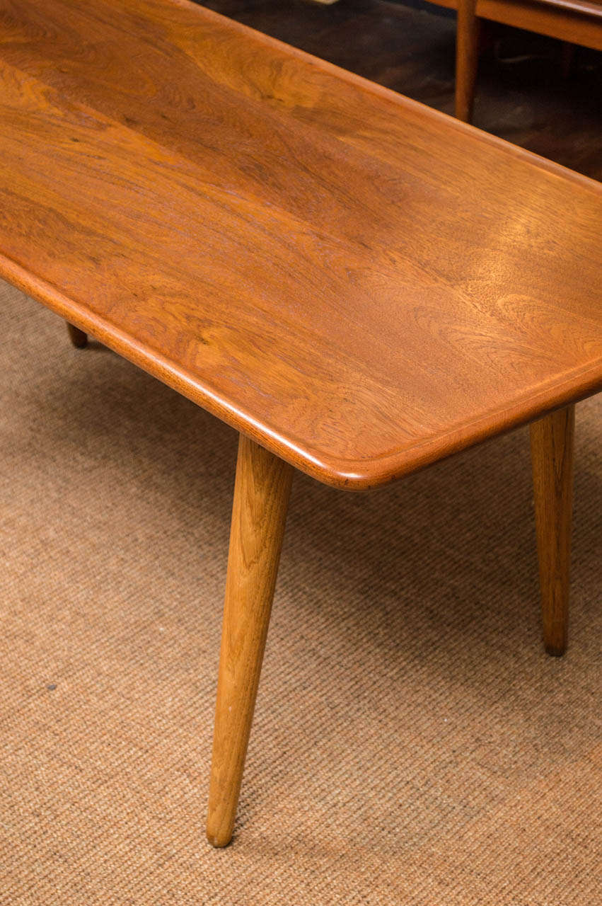 Hans Wegner Coffee Table In Excellent Condition For Sale In San Francisco, CA