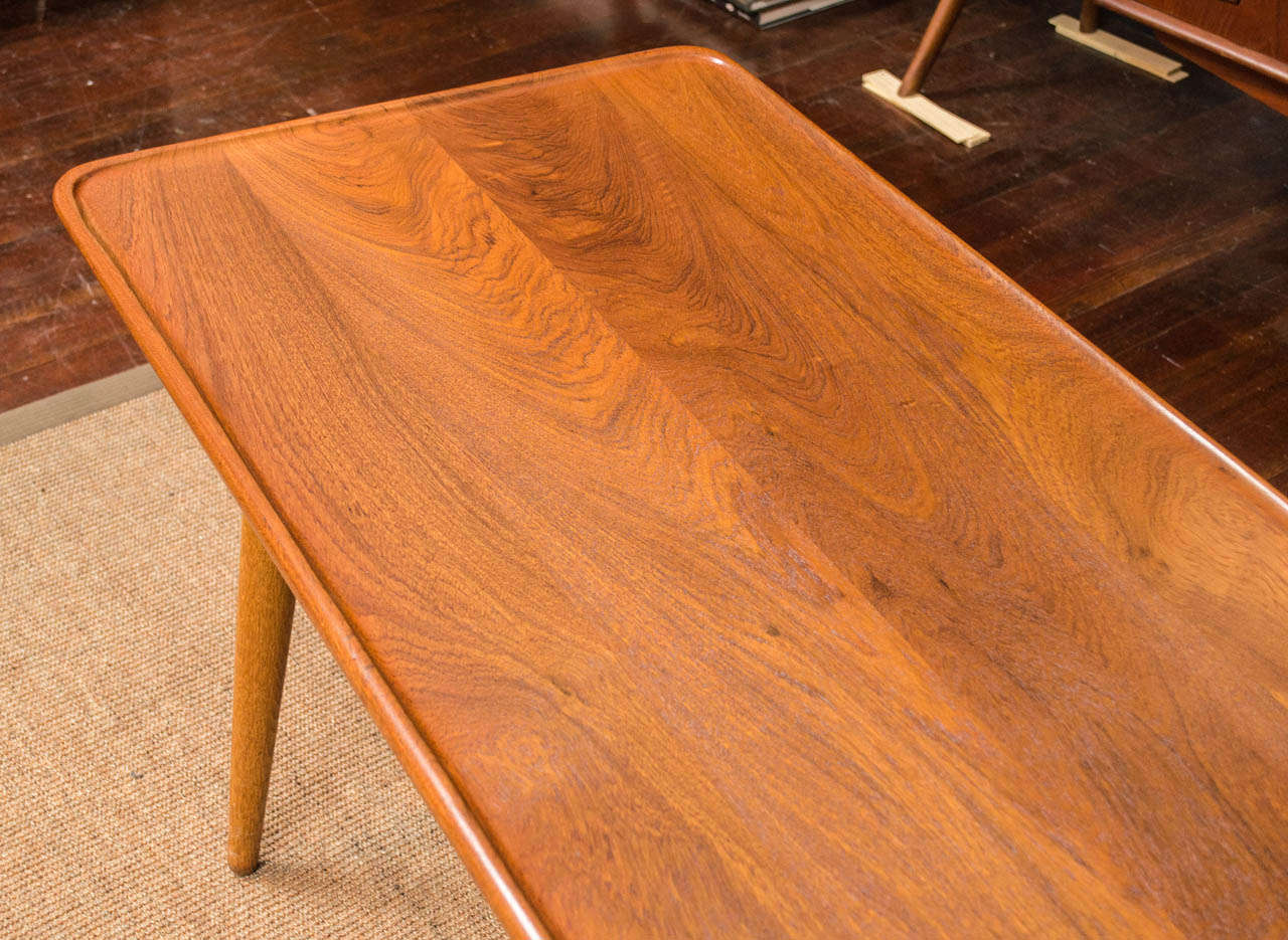 Mid-20th Century Hans Wegner Coffee Table For Sale
