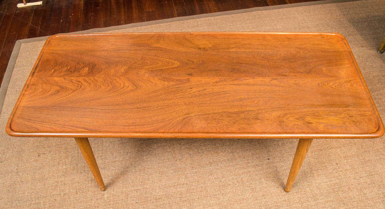 Oak Hans Wegner Coffee Table For Sale