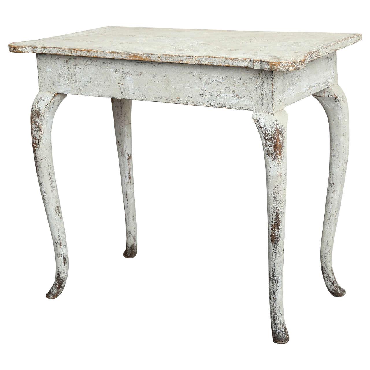 Swedish Rococo Side Table Circa At Stdibs - Rococo side table