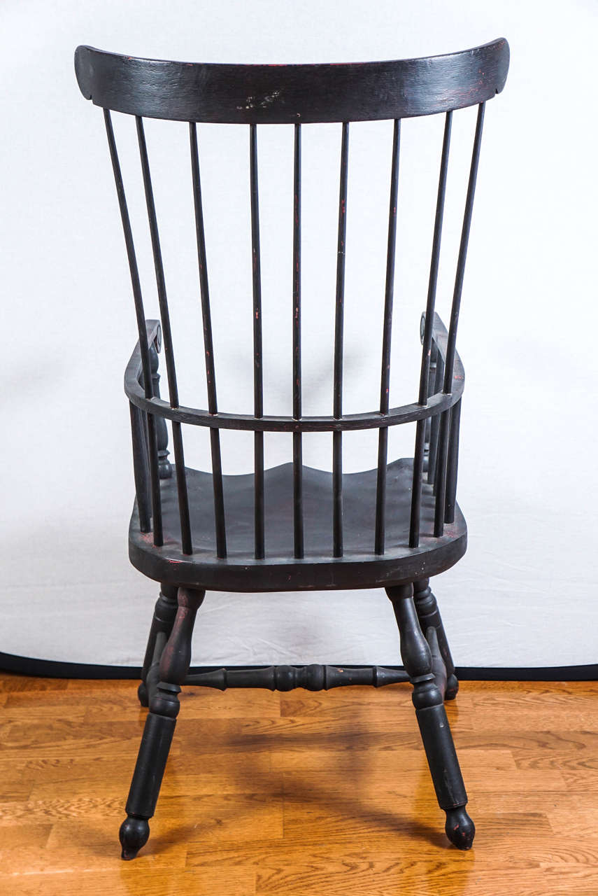 High Back Windsor Chair For Sale At 1stdibs