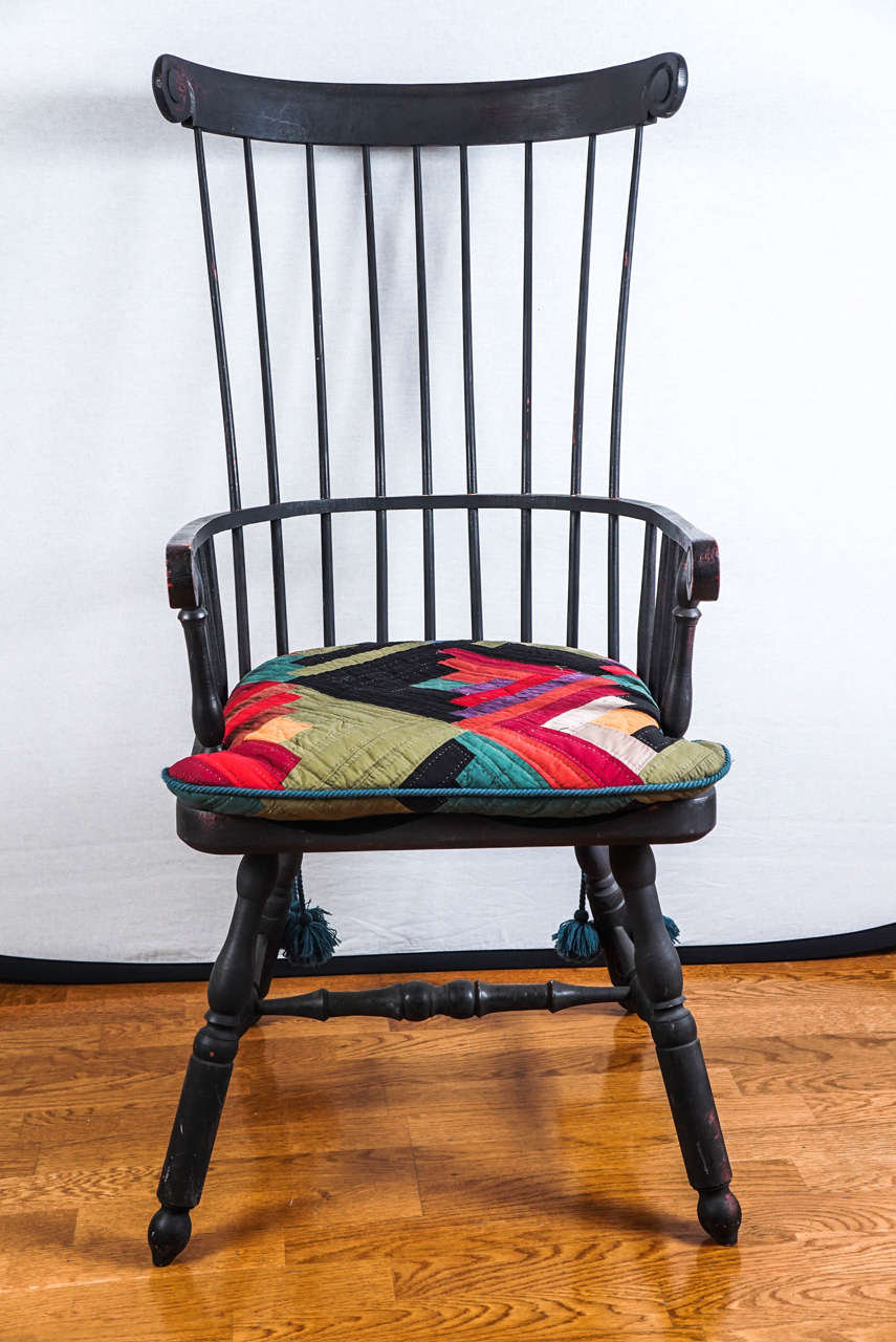 Ordinaire High Back Windsor Chair For Sale 2