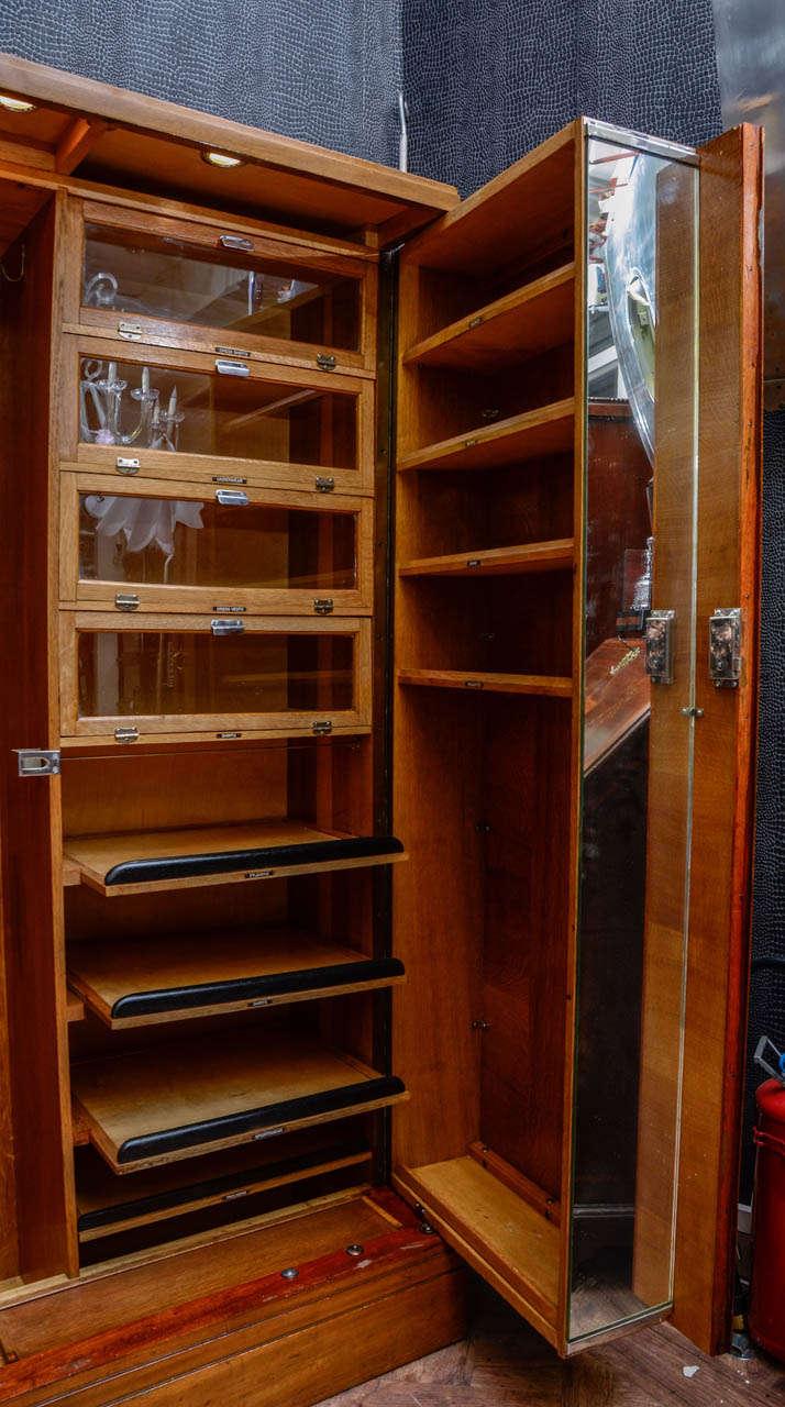 "1930s Wardrobes: 1930 ""Compactom"" Burr Walnut Wardrobe At 1stdibs"