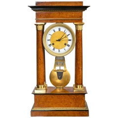 Pinwheel Portico Clock
