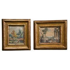 Two 18th Century Gouaches