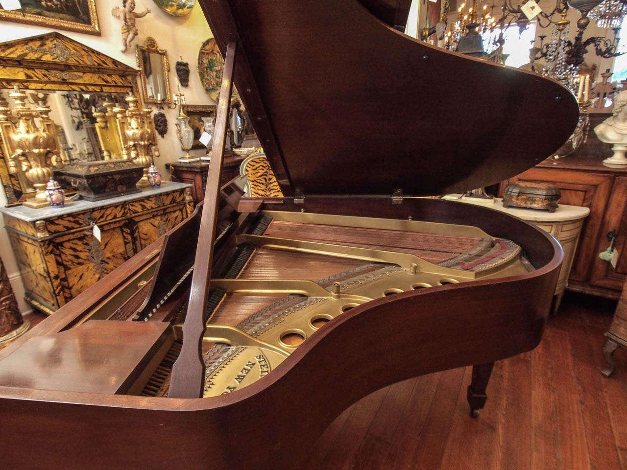 Steinway Model M Grand Piano 1918 3