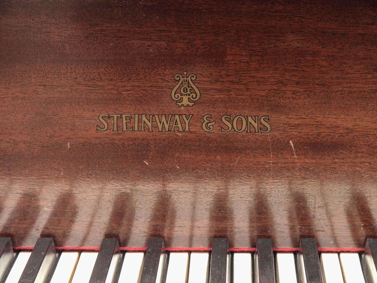 Steinway Model M Grand Piano 1918 4