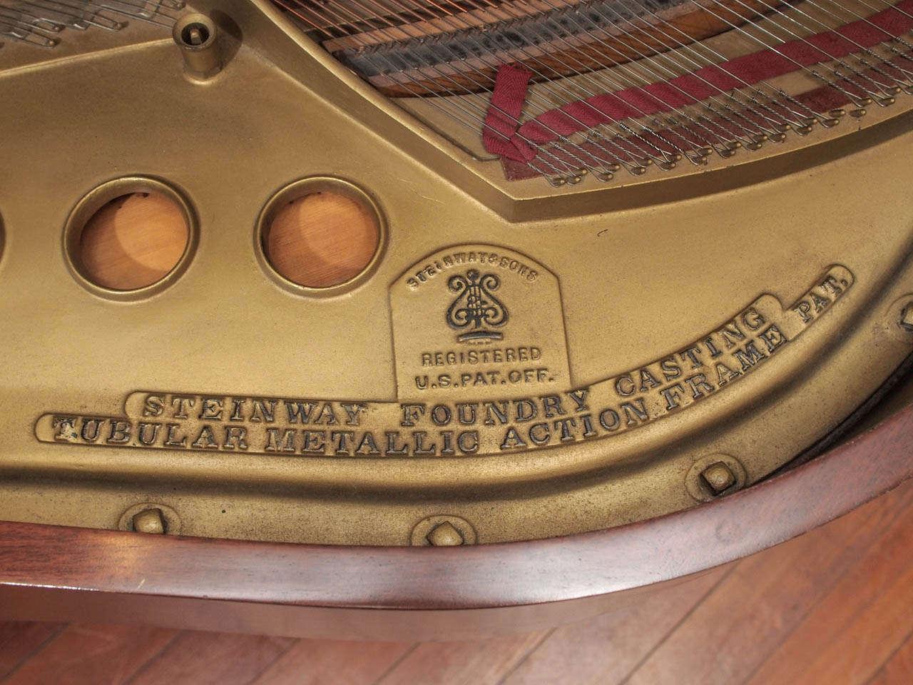 Steinway Model M Grand Piano 1918 8