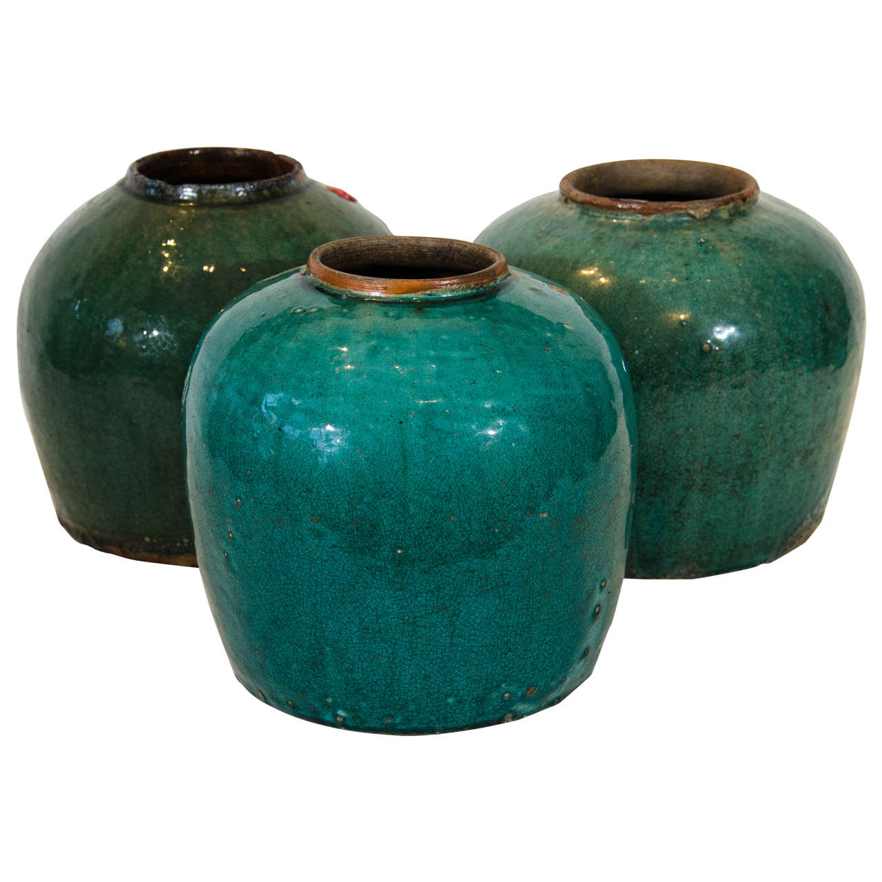Antique Chinese Ginger Jars For