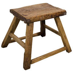Antique Provincial Stool