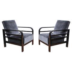 Pair of Bauhaus Armchairs