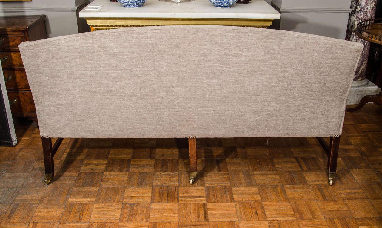 19th Century Hepplewhite Sofa For Sale 4
