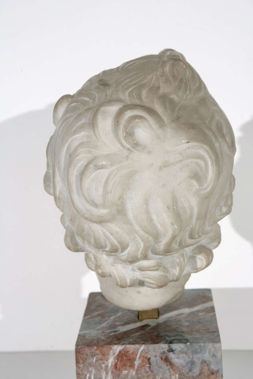 19th Century Marble Bust For Sale 3