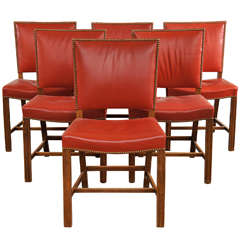 Set 10 Kaare Klint-Style Chairs