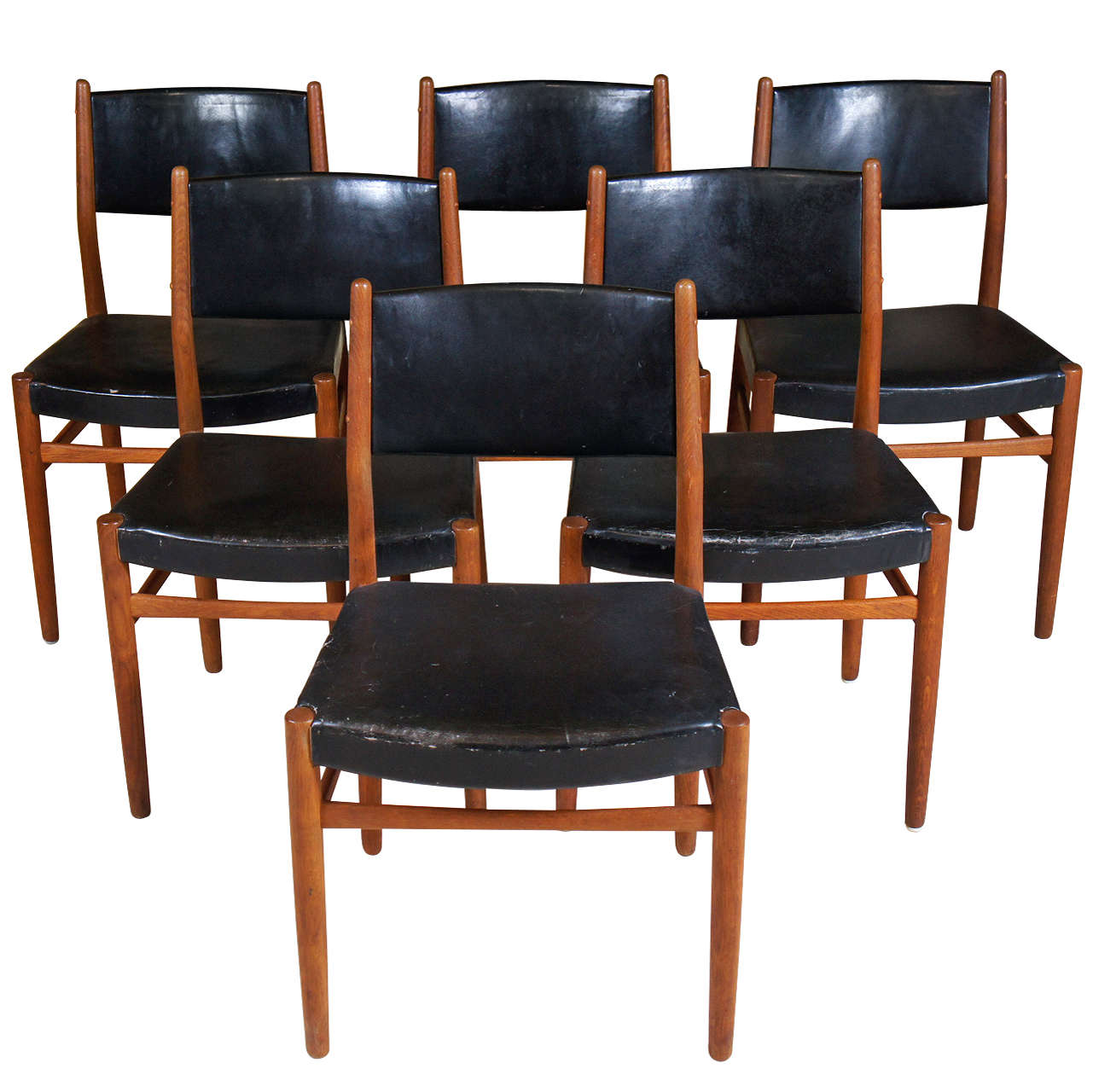 set 10 danish modern dining chairs at 1stdibs