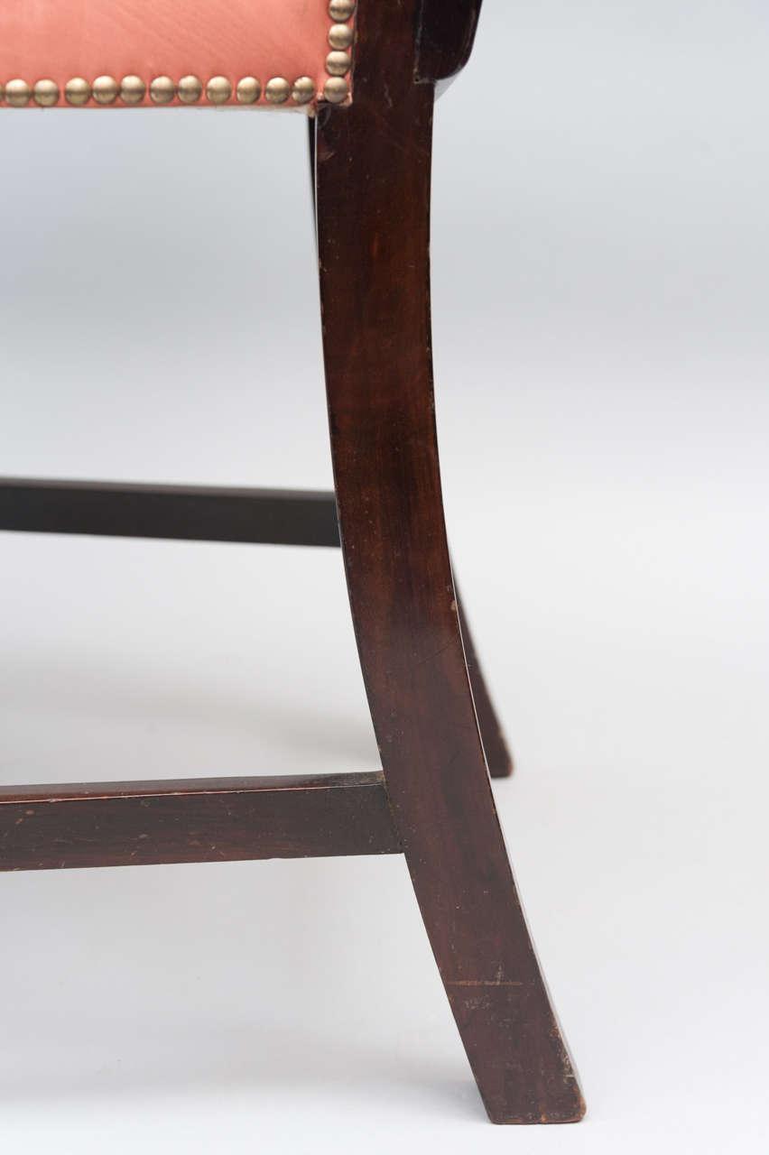 an impressive 19th century mahogany open armchair armchair desk tray in uk armchair desk tray in uk