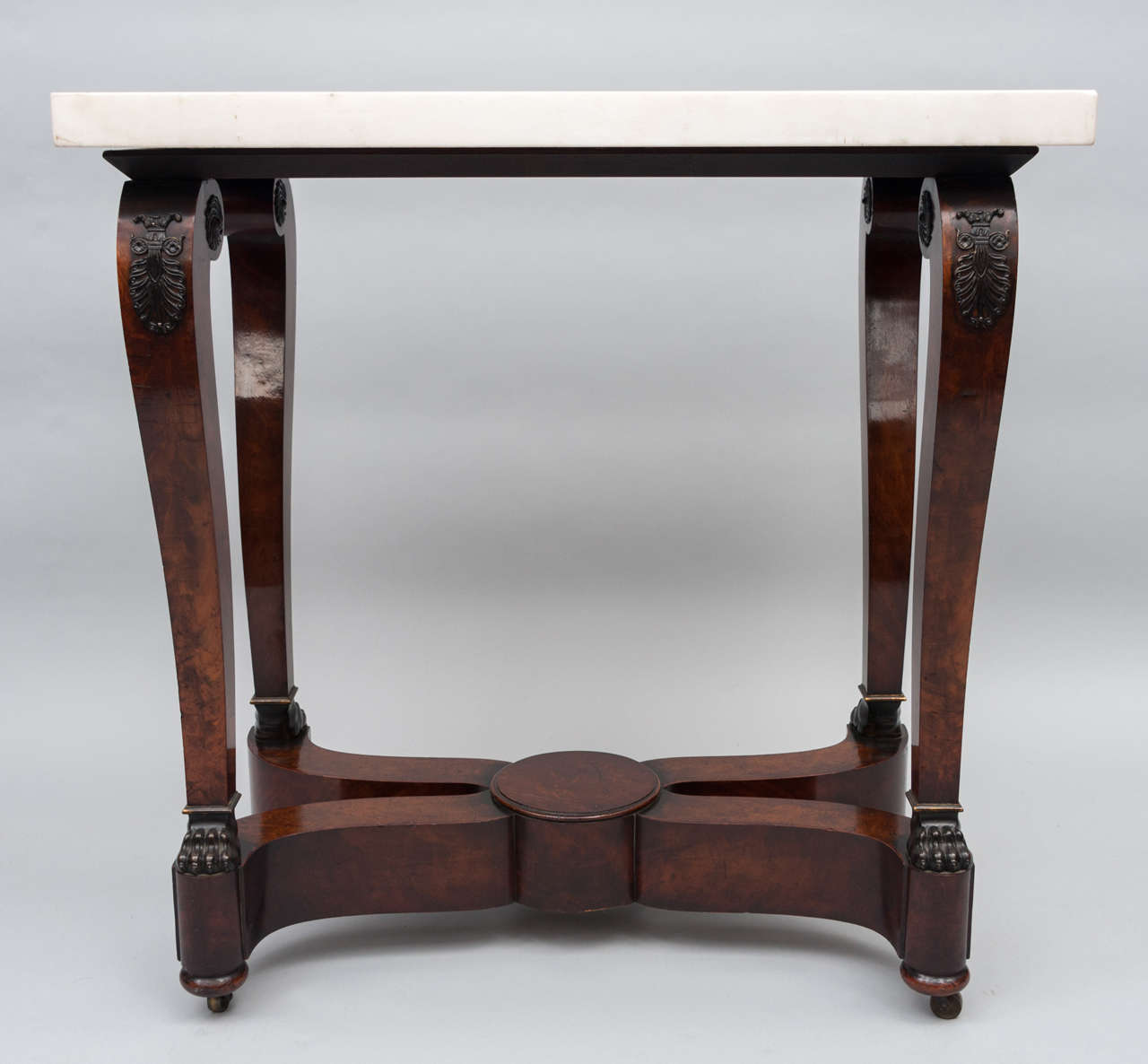 Early 19th Century French Empire Centre Table In Good Condition For Sale In Moreton-in-Marsh, Gloucestershire