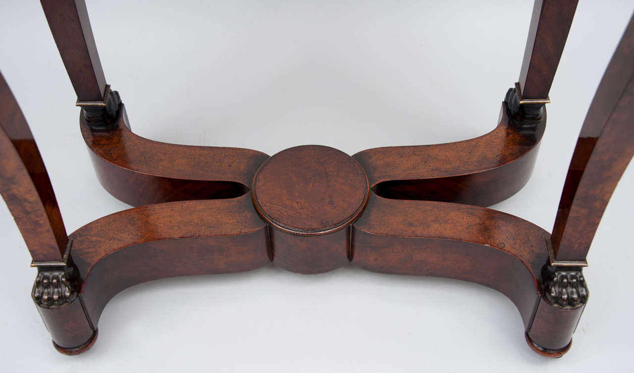 Early 19th Century French Empire Centre Table For Sale 3
