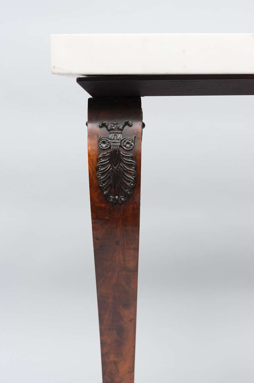Early 19th Century French Empire Centre Table For Sale 4