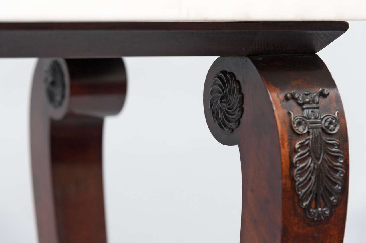 Early 19th Century French Empire Centre Table For Sale 5
