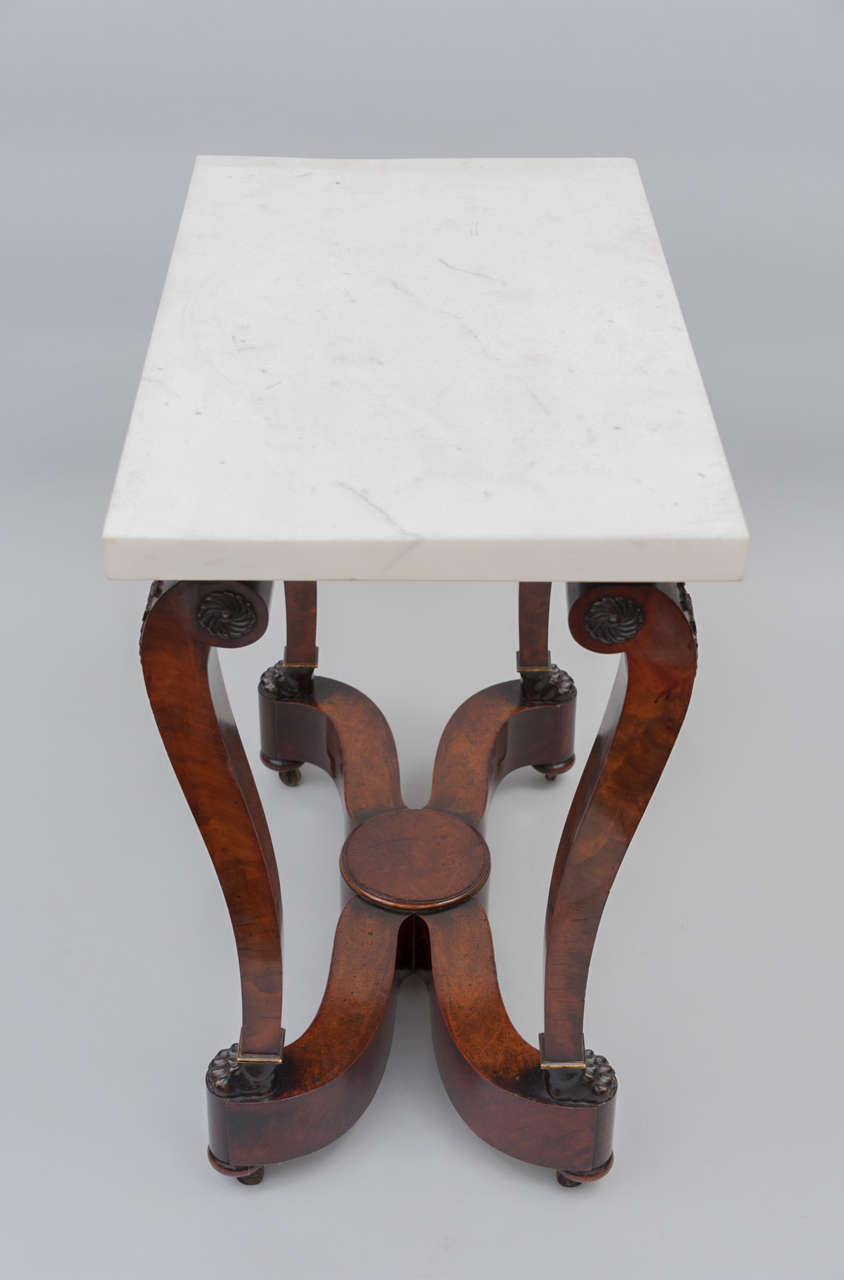 Early 19th Century French Empire Centre Table For Sale 6