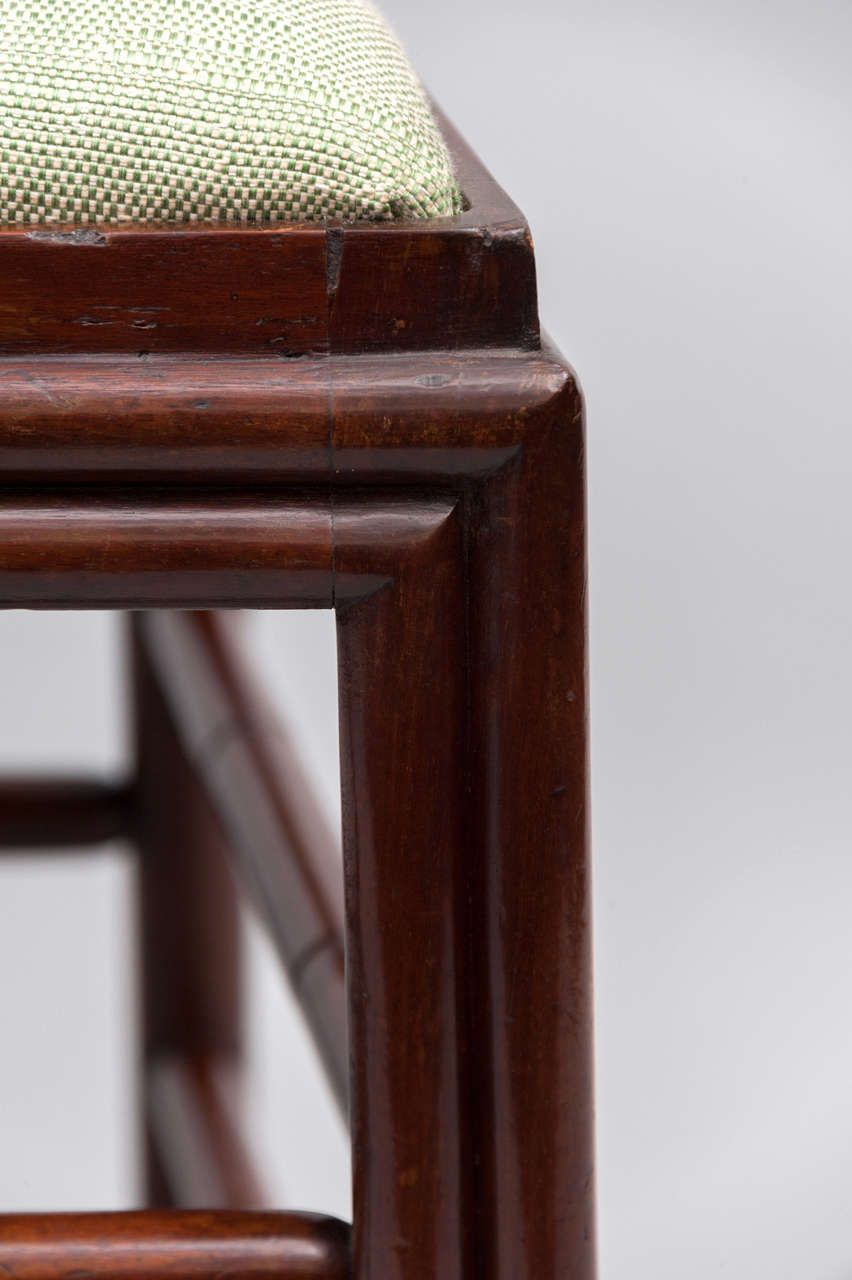 Set of Six George III Mahogany Dining Chairs by Gillows In Good Condition For Sale In Moreton-in-Marsh, Gloucestershire