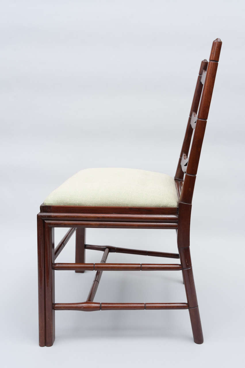 Set of Six George III Mahogany Dining Chairs by Gillows For Sale 1