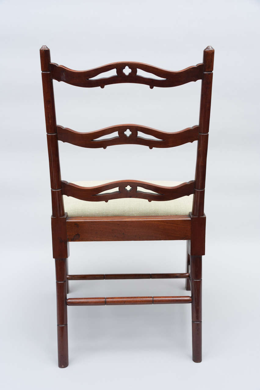 Set of Six George III Mahogany Dining Chairs by Gillows For Sale 2