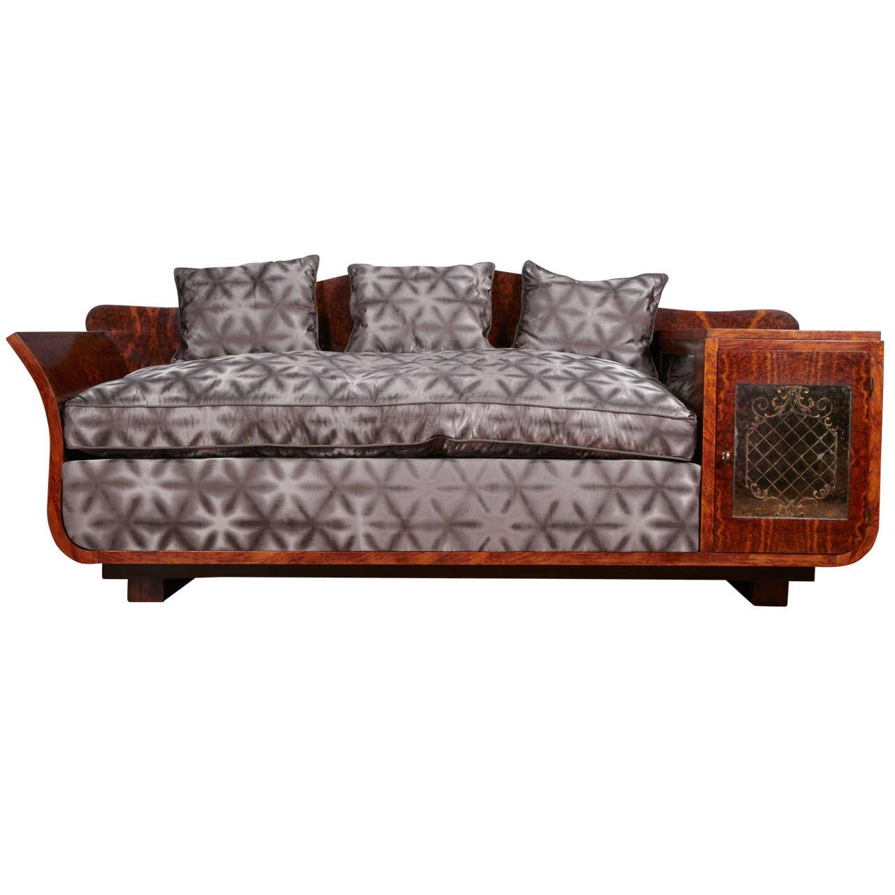 Extraordinary Art Deco sofa