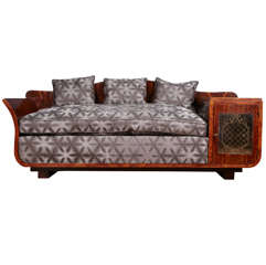 Extraordinary Art Deco sofa