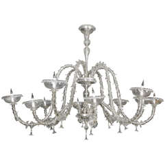 Gorgeous Chandelier Attributed To Barovier