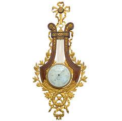 Precious Barometer Louis XVI Style