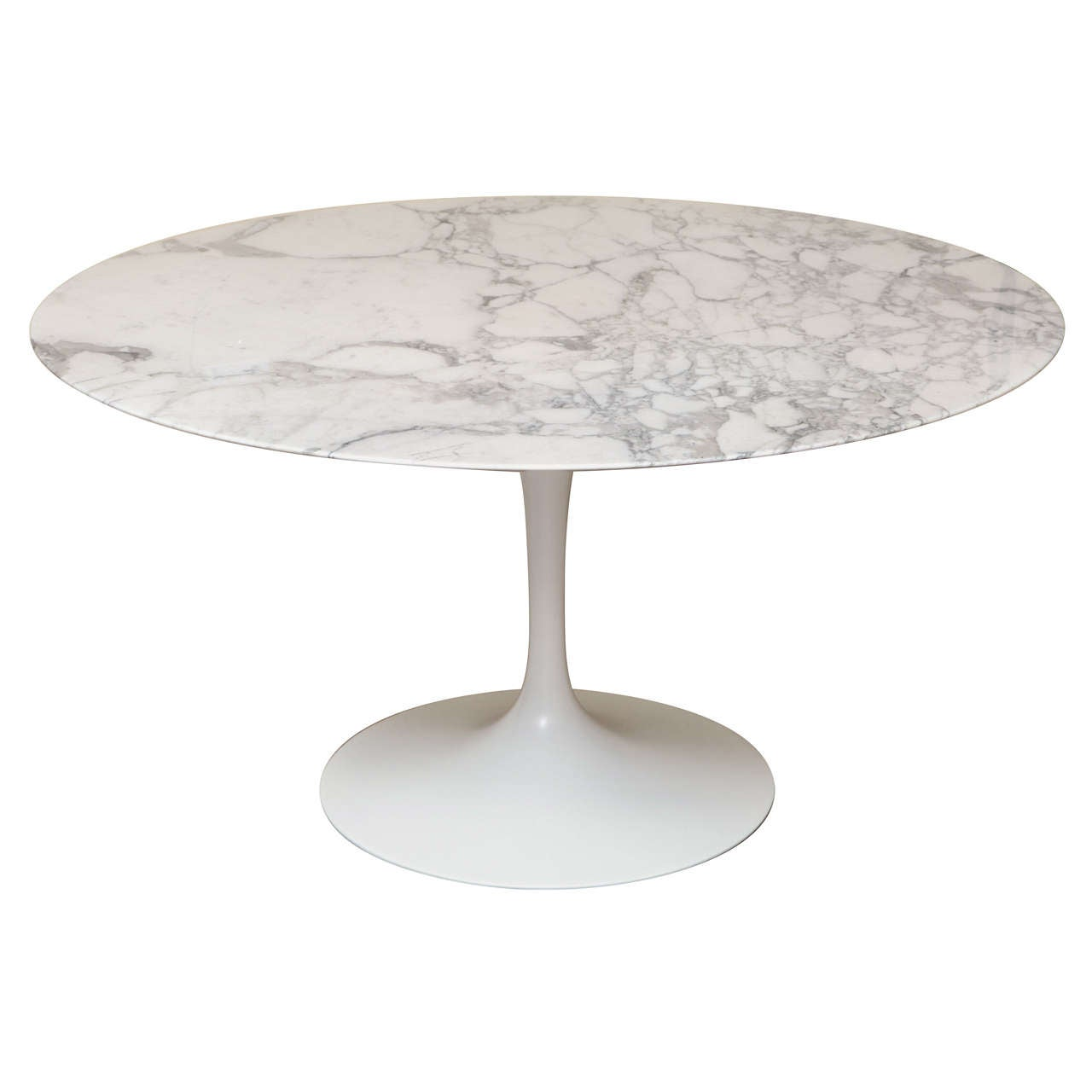 round marble top saarinen dining table at stdibs - round marble top saarinen dining table