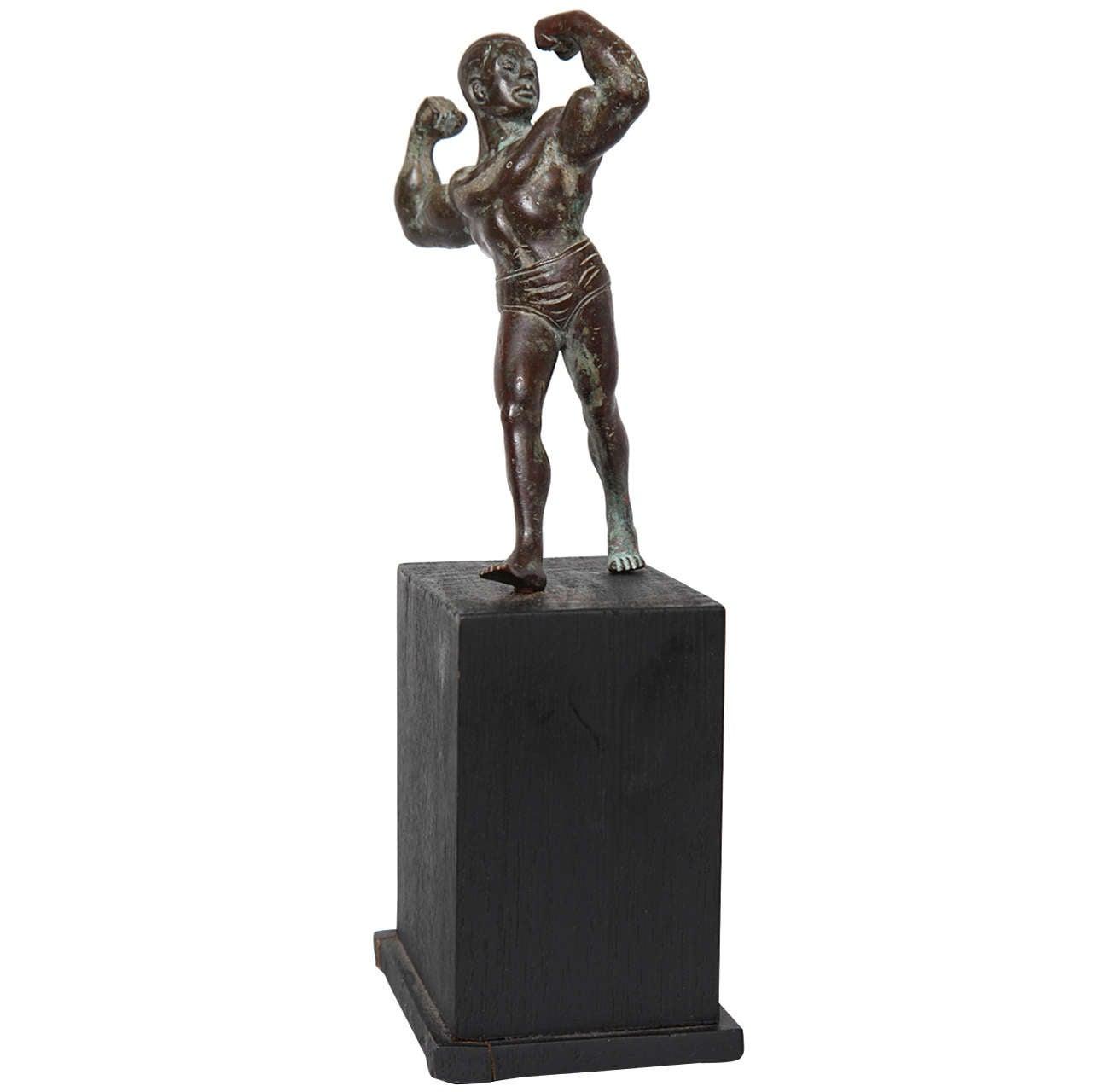 Burmese Bronze Muscleman