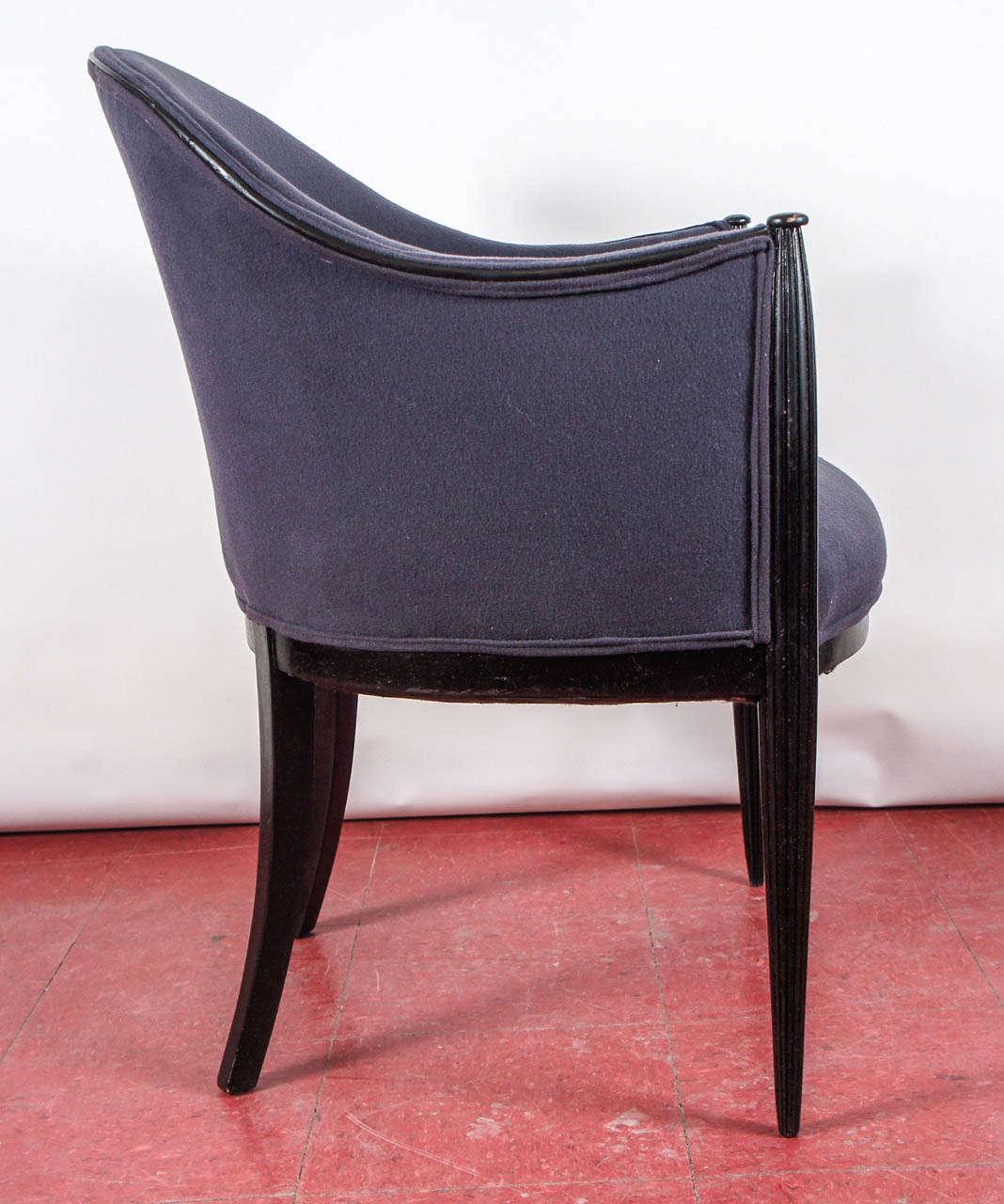 Pair Of Rhulmann Or Paul Follot Style Chairs--Priced Per
