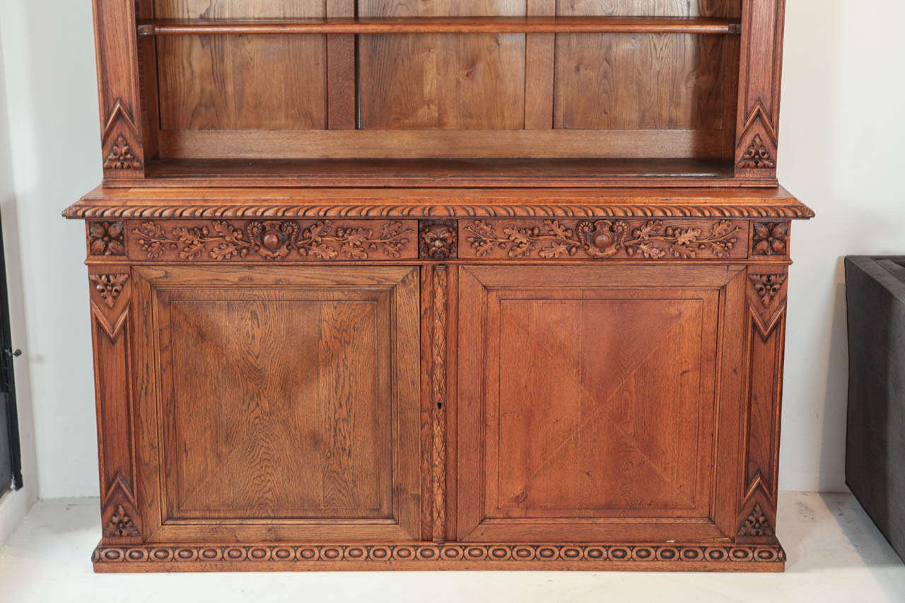 American Large Scale Victorian Cabinet and Hutch For Sale