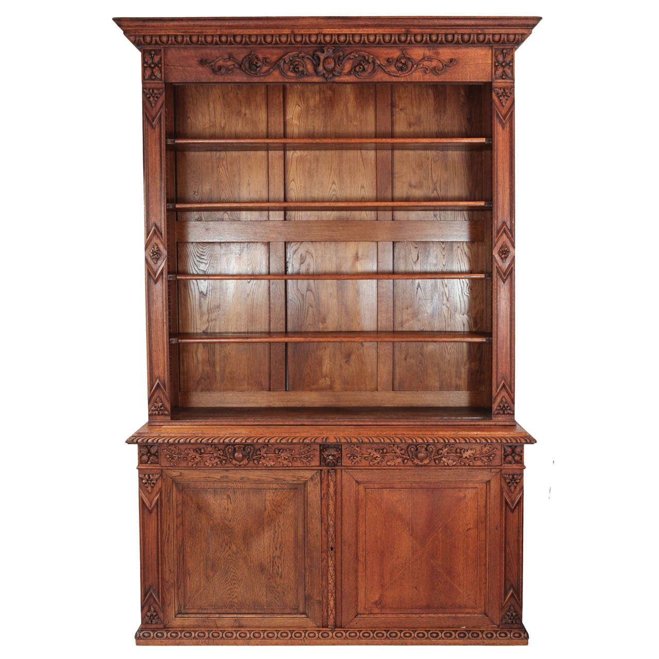 Large Scale Victorian Cabinet and Hutch For Sale