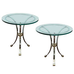 An Elegant Pair of Side Tables in the Manner of Maison Jansen