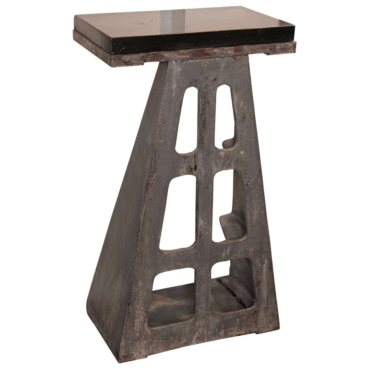 Aircraft Industrial Pedestal Table For Sale