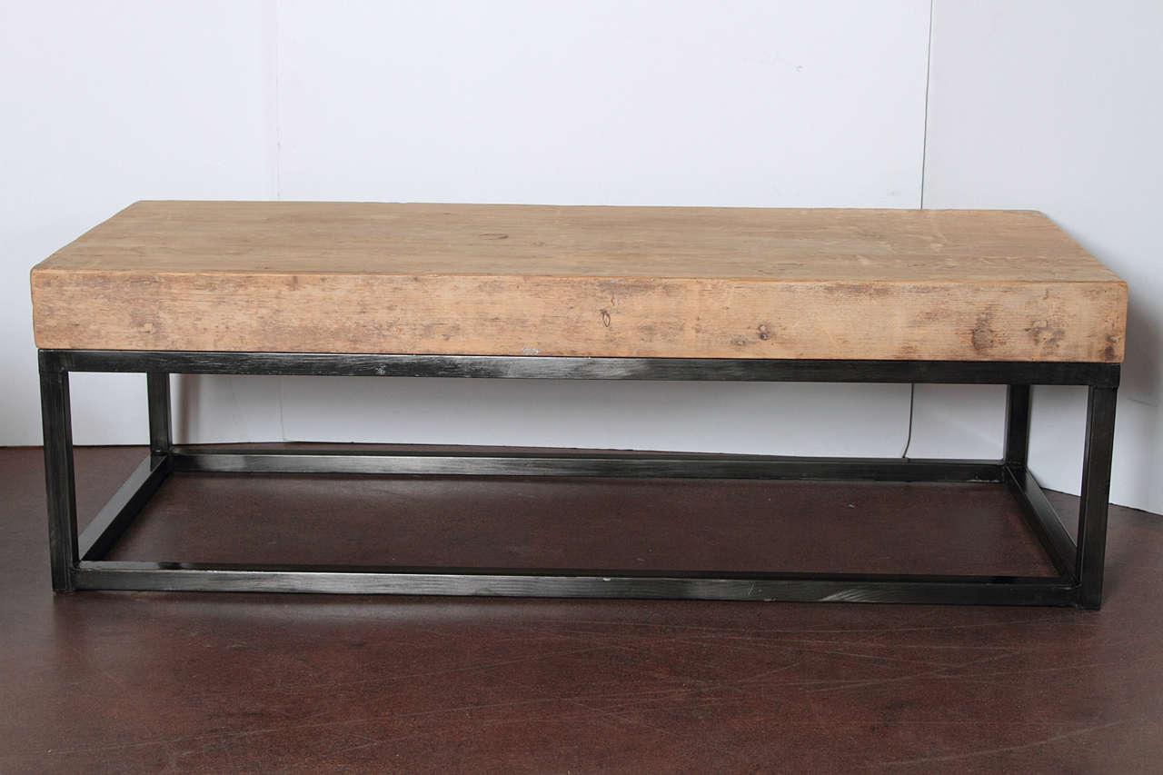 Organic Modern Elm Coffee Table At 1stdibs