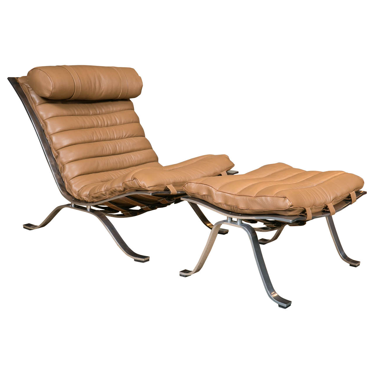 Lounge Chair and Ottoman by Arne Norell