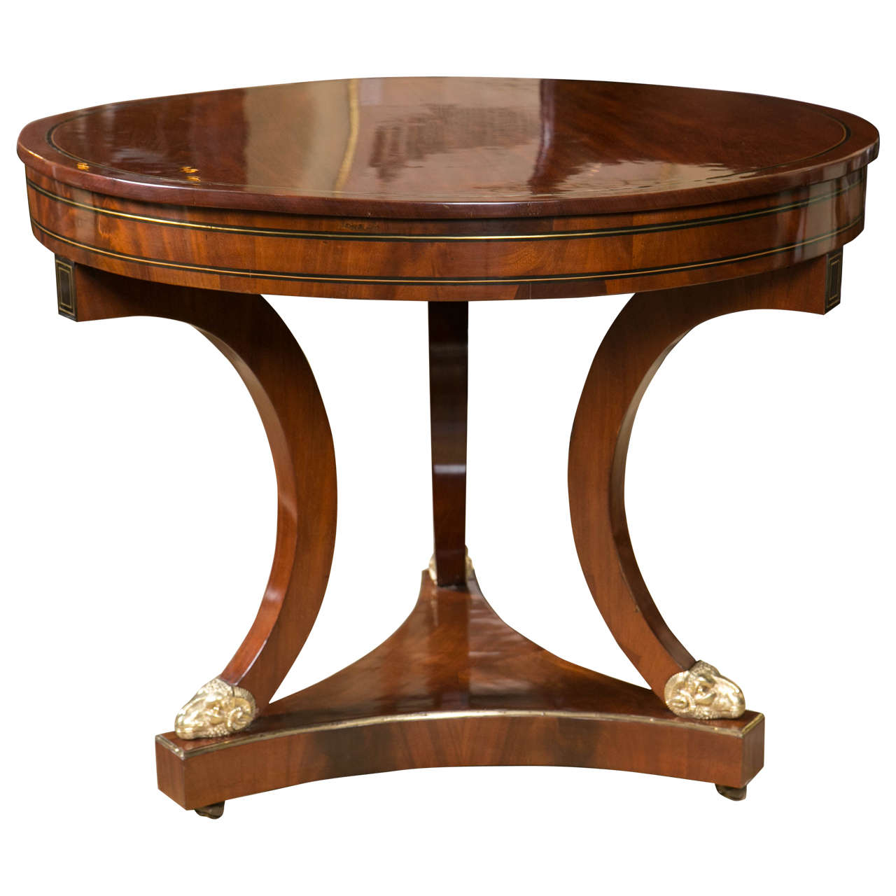 Mid 19th century mahogany gueridon table for sale at 1stdibs for Table gueridon