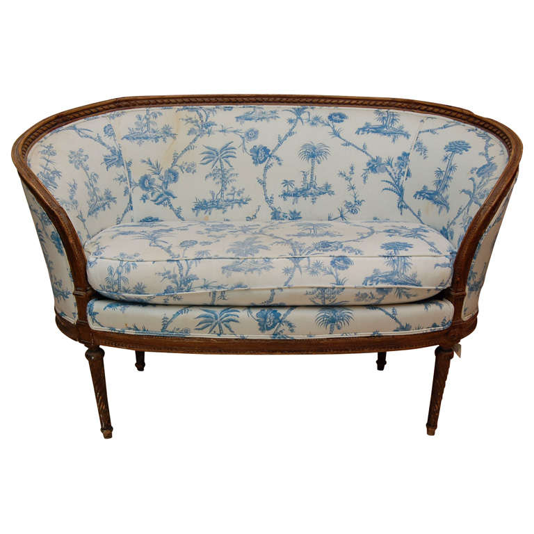 Louis xv style beechwood canape at 1stdibs for Canape winson