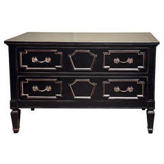 Maison Jansen Ebonized Commode