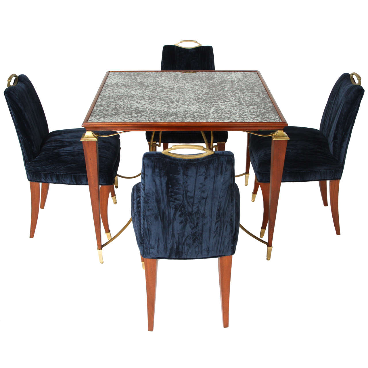 Opulent 1940 s Arturo Pani Table and Chairs at 1stdibs