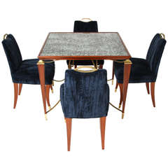 1940's Arturo Pani Table and Chairs