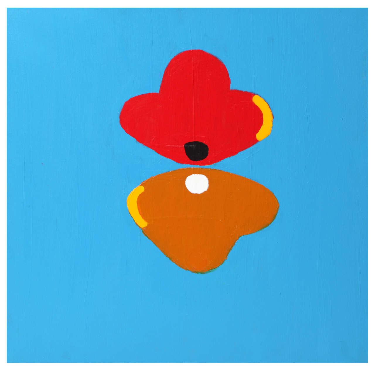 "Nicholas Howey ""New York Math"" Acrylic on Canvas, 2006"