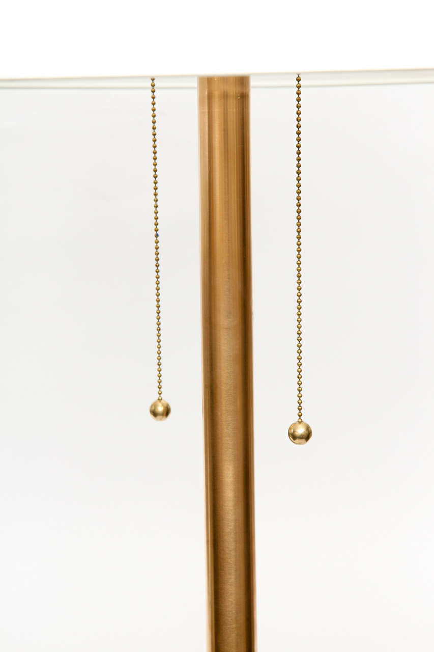 1960s Modernist Architectural Floor Lamp For Sale 1